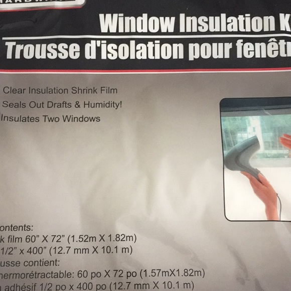 Tool Bench Hardware Other - (2) Window Insulation Kits